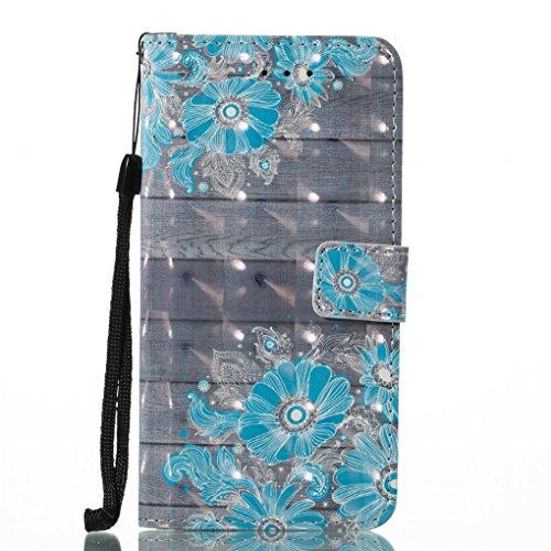 Apple iPhone X Hülle, SATURCASE Schönes 3D Muster PU Lederhülle Ledertasche Magnetverschluss Flip Cover Brieftasche Case Handy Tasche Schutzhülle Handyhülle Hülle mit Standfunktion Kartenfächer und Ha Muster-13