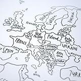 Sketch Map - Weltkarte von Awesome Maps