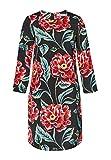 HALLHUBER A-Linien-Kleid mit Blumendruck A-Linie Multicolor, 38