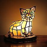 Best Marque Beaux-arts Lampes de travail - GEYAO Luxe Creative Belle Chat Chambre De Chevet Review