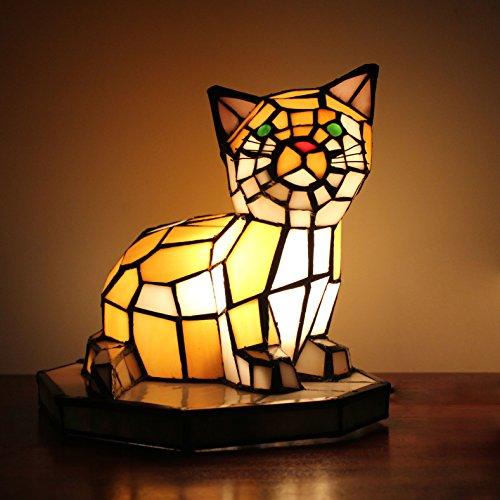 Art-europäische kreative Katze-Tabellen-Lampe Kinderlampen-Nachtlicht (Deco-schreibtisch-lampe)