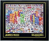 James Rizzi Poster Kunstdruck Bild - its so hard to be a saint in the city - Kostenloser Versand