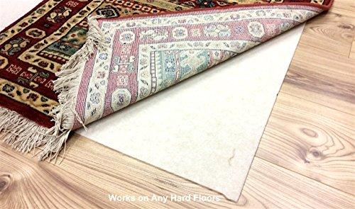 Rugstore-Outlet Premium Heavy Gewicht Luxus Teppich Anti kriechen Greifer Untergrund für alle harten & Teppichböden Rutschfeste S-XXXL, 100x400cm