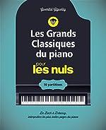 Les grands classiques du piano pour les Nuls - Cahier de partitions de Gwendal GIGUELAY