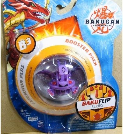 Bakugan Booster Pack Series 3 Bakuflip (Colours Vary) Brand New
