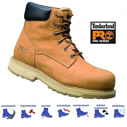 1e2ee0b58278a Timberland Pro Traditionnel Bottes de travail chaussure de sécurité blé -  traditionnel UE   ROYAUME-