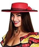 Karneval Klamotten Kostüm Hut Spanierin Carmen Zubehör Fasching Karneval