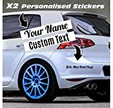 Custom Text Car Sticker Personalised Name Lettering Stickers Vinyl Decal