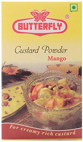 Butterfly Instant Custard Mix, Mango, 100G