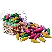 MagiDeal 70er-Set Natürlicher Rauch, Rückfluss Pagode Weihrauch, Indoor Aromatherapie Kegel - Gemischt preisvergleich bei billige-tabletten.eu