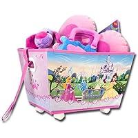 Preisvergleich für Spielzeugkiste - Aufbewahrungskiste - Spielzeugbox mit Rollen Princess