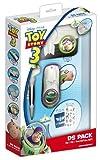 Toy Story 3 Pack 3 accessoires Dsi/DS Lite : coque de protection + boitier rangement + stylus + chiffon + stickers