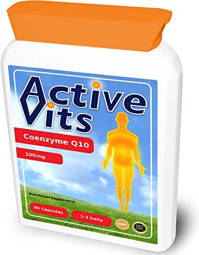 ActiveVits Co-Enzyme Q10 100mg 90 Kapseln