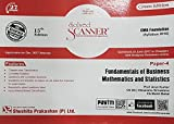CMA Foundation Paper 4 Fundamentals of Mathematics and Statistics - Solved Scanner