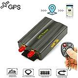 GPS Tracker, TKSTAR Fahrzeug Auto Motorrad LKW Echtzeit GPS Ortung GPS mit Fernbedienung GPS Locator GPRS/GSM/GPS Tracker mit kostenlose App TK103B