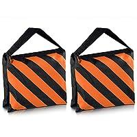 Les sacs de sable sont utiles en studio pour aider à stabiliser votre équipement d'éclairage. Ce sac est vide et peut être rempli de gravier, de sable, de roches ou de tout autre matériau pour ajouter du poids.    Caractéristiques:    Conception d...