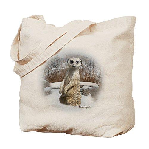 CafePress Damen Handtasche Tote Bag Tag Rodelschlitten Snow Erdmännchen - Meerkats - handelsüblichen Multi-Farbe