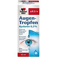 Doppelherz Augen-Tropfen Hyaluron 0,2 % – Augentropfen ohne Konservierungsstoffe mit lindernder Wirkung bei trockenen... preisvergleich bei billige-tabletten.eu