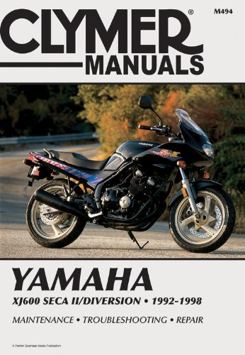 Yamaha Xj600 Seca II 92-98 (CLYMER MOTORCYCLE REPAIR)