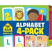 Alphabet (Flash Card 4-pk)
