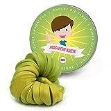 Pink Papaya Magische Knete - Super Chamäleon - Fidget Knete wechselt die Farbe Gelb/Grün, Farbwechsel, Das Intelligente Knetgummi, BPA Free - in Vielen Farben mit Verschiedenen Eigenschaften