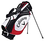 Calaway X Series Bolsa Trípode de Golf, Unisex Adulto, Blanco/Negro/Rojo, Talla Única