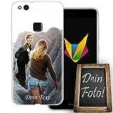 dessana Beste Freundin Handyhülle Personalisiertes Geschenk dünne Silikon TPU Case Eigenes Foto Motiv für Huawei P10 Lite Mit Text