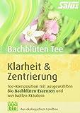 Salus Bachblüten Tee Klarheit und Zentrierung Bio 15 FB, 2er Pack (2 x 30 g)
