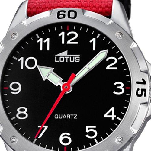 9e6eb05d61b8 Lotus Reloj Analógico para Niños de Cuarzo con Correa en Tela 18169 3 de  Lotus