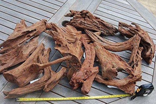 Zufällige Stück Medium Aquarium Moorkienholz Fisch Tank Dekoration für Java Moos oder Ferns