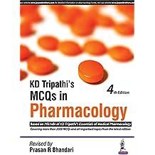 KD Tripathi's MCQs in Pharmacology (PGMEE)