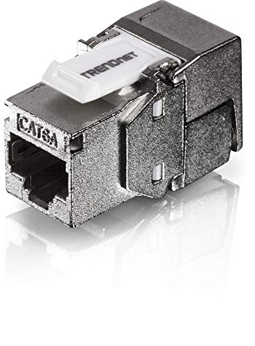TRENDnet 24-Port Blank Keystone geschirmtes 1U Patch Panel, STP, Kat6A, Kat5, Kat5e, Kat6, 19