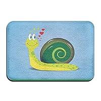 Hipiyoled The Little Snail Super Absorbent Anti-Slip Mat,Coral Carpet,Carpet Door Mat,Carpet,Carpet,Door Mat,40x60 Cm