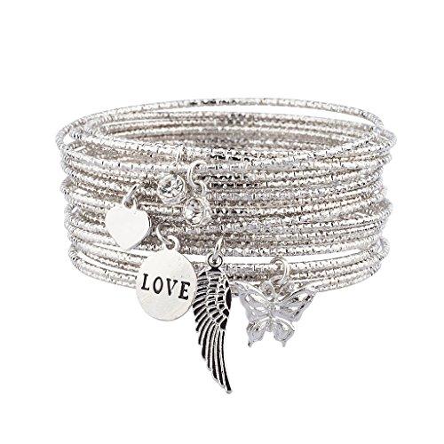 lux-zubehr-silber-ton-love-charm-armreif-set