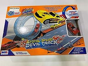 RONCHI SUPERTOYS- Rstoys 10738-Pista Total Speed Devil Track 260 cm, 10738