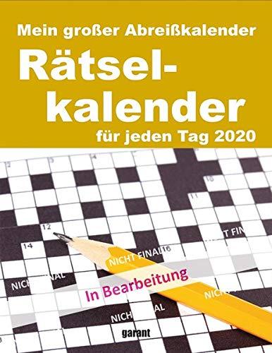 Abreißkalender Rätsel 2020