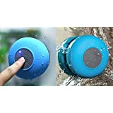 Bluetooth Shower Speaker With Mic Wireless Stereo Shower Speakers Portable Waterproof Bluetooth Wireless Stereo Shower Speakers, - Best For Bath, Pool, Car, Beach, Indoor/Outdoor Use (Random Colors )