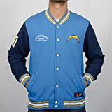 NFL San Diego Chargers Senell Fleece Letterman (Majestic Athletic)
