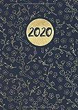 2020: Tageskalender für 2020 mit 1 Tag pro Seite mit Jahres und Monatsübersicht   Tracking von Gewohnheiten   Din A4   VOL 55 - Visufactum Kalender