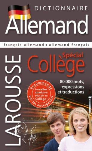 Dictionnaire Allemand - Spécial Collège de Collectif (6 mars 2013) Relié
