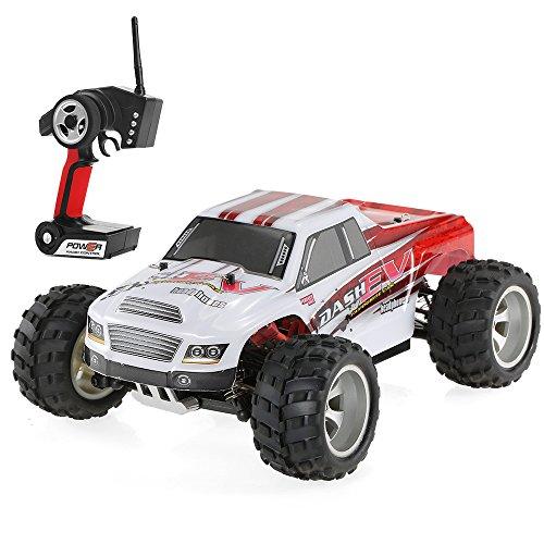 Goolsky WLtoys Voiture A979-B 2.4G 1/18 Echelle 4WD 70KM / h à Grande Vitesse Electrique RTR Monster Truck RC Voiture