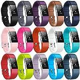 Bracelet Fitbit Charge2, bracelet de remplacement multicolore pour Fitbit...