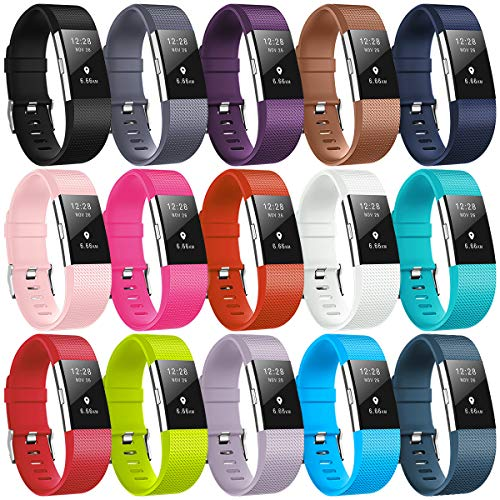Bracelet Fitbit Charge2, bracelet de remplacement multicolore pour Fitbit Charge2