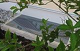 Lichtschachtabdeckung Regenschutz AcrySwing