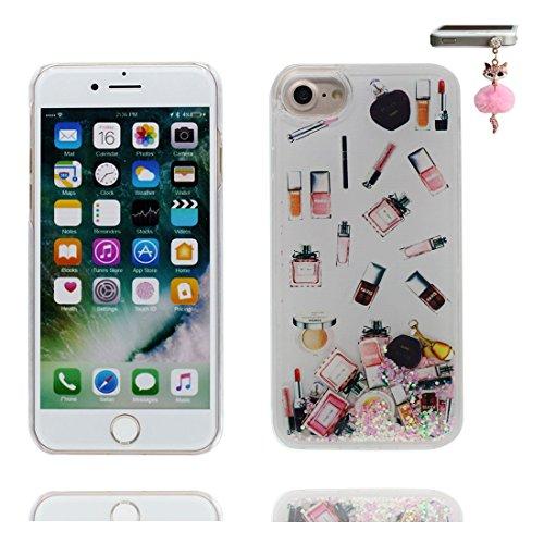 iPhone 7 Custodia, Bling Glitter ultra sottile / Case iPhone 7 Copertura / Shock Dust Resistant Shell iPhone 7 Cover 4.7 & tappi antipolvere / stelle Terra Rocket COLOR 7