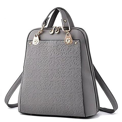 C.CHUANG Simple Bag Shoulder Bag Backpack Books Bag for Girl(C4)