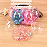 #8: Party Propz® Soft Pearl Mud Egg Slime Stress Relief Toy Develop The Kids' Creativity (Set of 2)