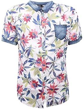 C2584 camicia manica corta short sleeve IMPERIAL shirt men