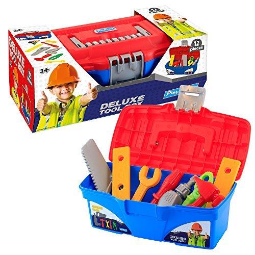 playskape Kinder Deluxe praktisch Werkzeugbox