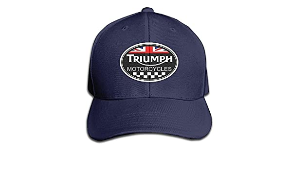 triumph stag baseball cap hat spitfire home unisex adult black solid caps hats navy sports outdoors